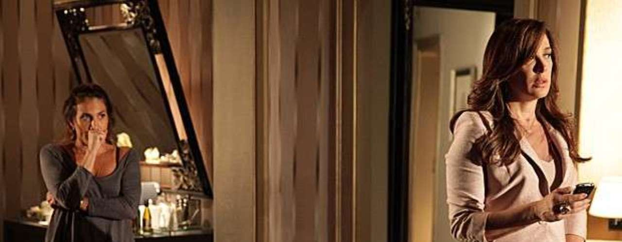 Wanda (Totia Meirelles) está mesmo desesperada. Sem rumo certo, ela vai ao hotel de Lívia (Caludia Raia) atrás de um lugar para passar a noite. \