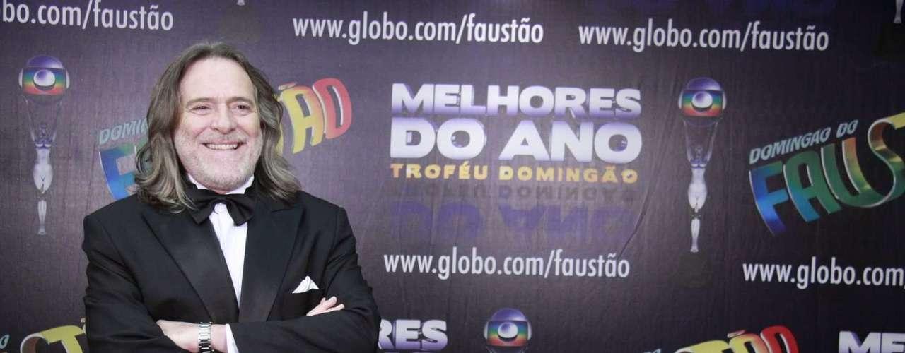 Famosos participam da 17° edição do prêmio 'Melhores do Ano', no Domingão do Faustão.Na foto, o ator José de Abreu
