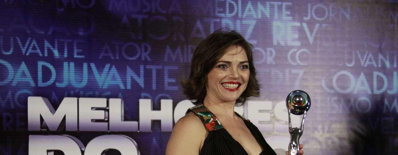Titina Medeiros ganhou o prêmio de atriz revelação