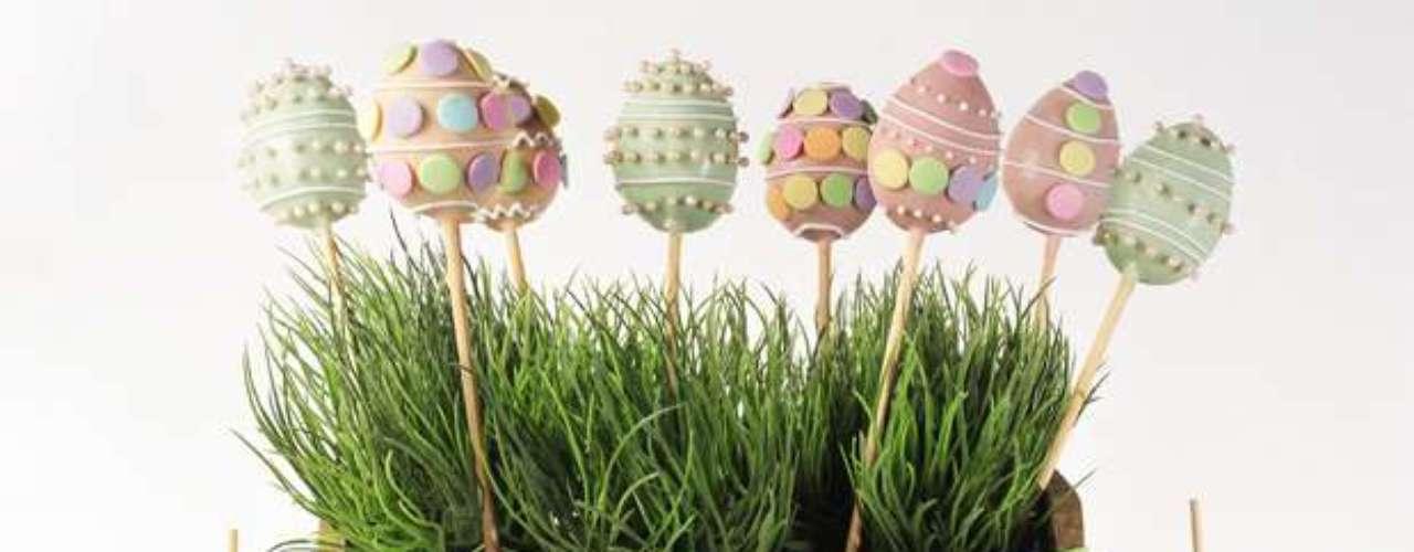 Doces como o cake pop vão fazer o maior sucesso no almoço do domingo de Páscoa