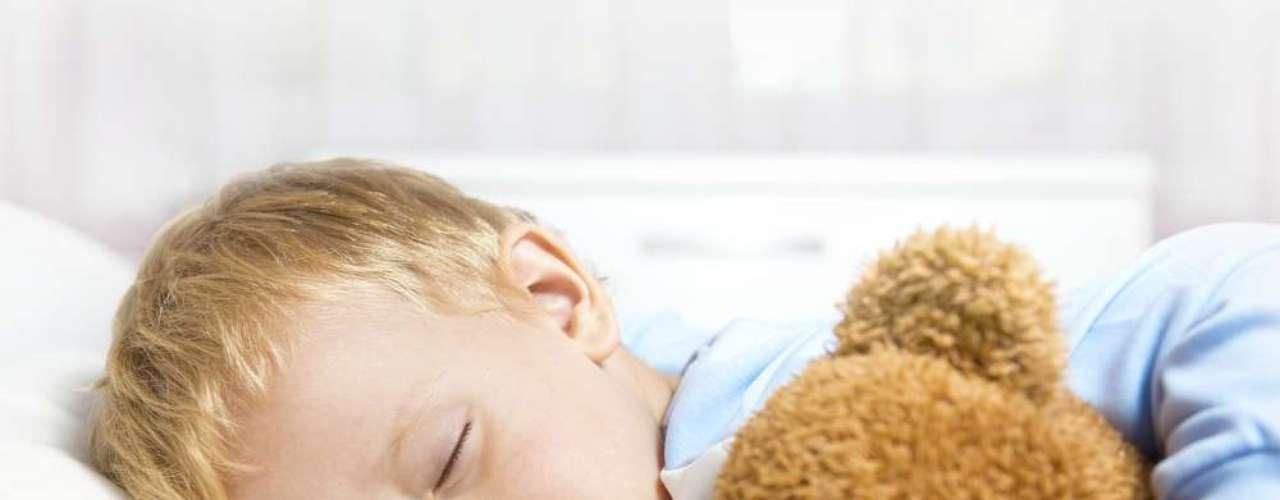 Um bichinho de pelúcia ou cobertor ajudam a criança a entrar no sono