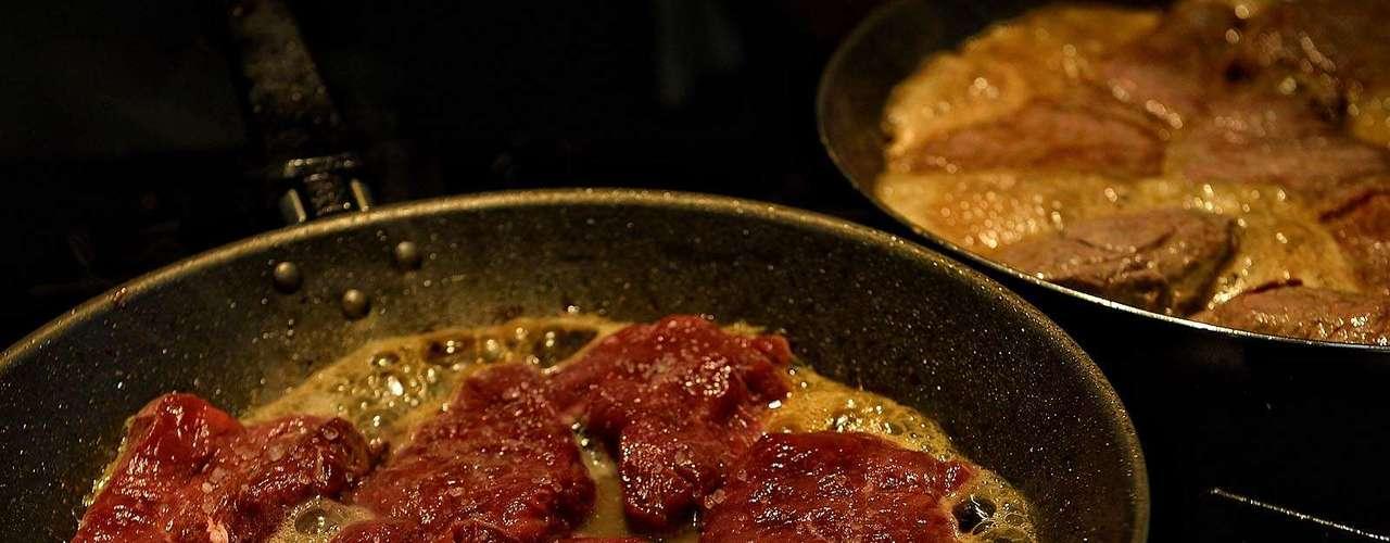 Se preferir, pode fritar a carne