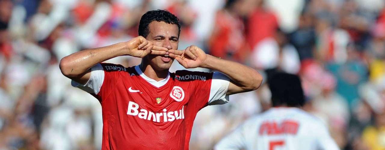 Leandro Damião fez o primeiro gol do Internacional em Ijuí