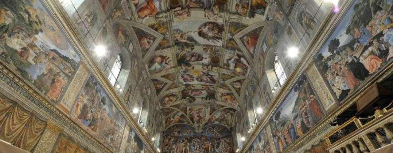 12 de março -Diante do altar maior e do \