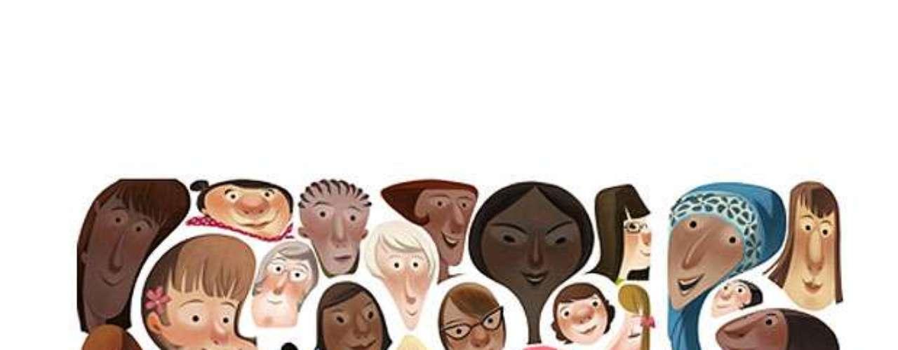 8 de março - Dia Internacional da Mulher (Global)