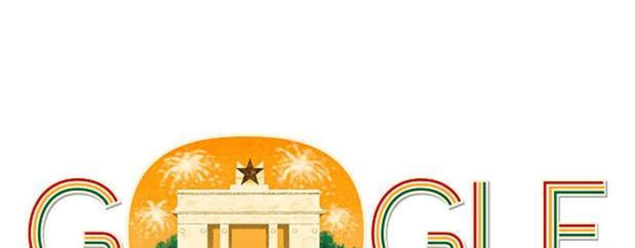 6 de março - Dia da Independência de Gana (Gana)