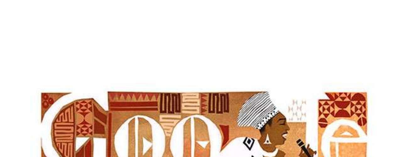 4 de março - 81º aniversário de Miriam Makeba, cantora sul-africana (Global)