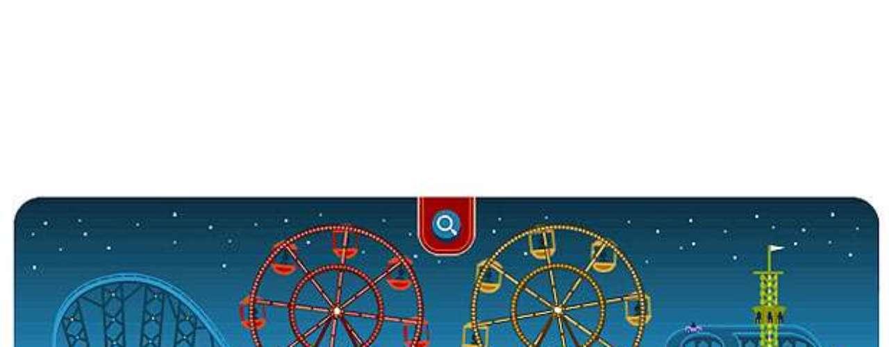 14 de fevereiro - 154º aniversário de George Ferris, inventor da roda-gigante, e Dia de São Valentim (diversos países)