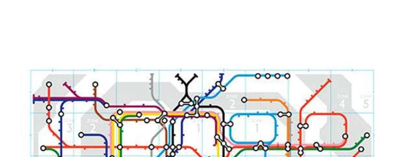 9 de janeiro - 150º aniversário do metrô de Londres (Reino Unido)