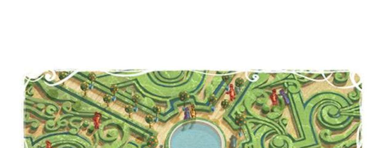 12 de março - 400º aniversário de André Le Nôtre, paisagista francês que projetou os jardins do Palácio de Versailles (França)