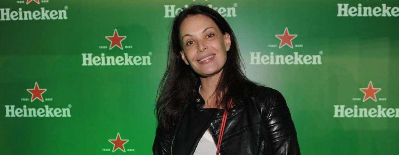 Carolina Ferraz também aproveitou o festival