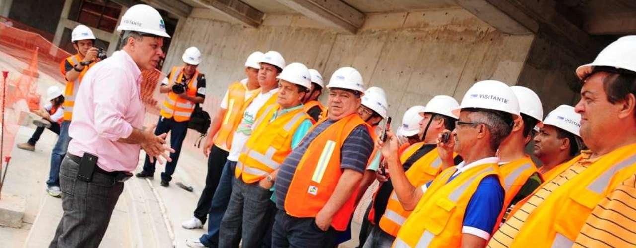5 de abril de 2013: a próxima etapa da construção será o início da montagem da estrutura metálica da cobertura e fachada, prevista para o mês de maio. Esta etapa seguirá até outubro e a entrega do estádio está prevista para o final do ano