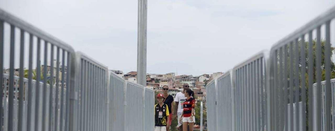 Arena Fonte Nova é reinaugurada com clássico entre Bahia e Vitória em Salvador; veja fotos do acesso do público ao estádio