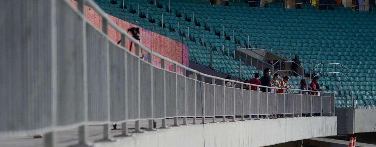 Arena Fonte Nova também receberá a decisão do terceiro lugar na Copa das Confederações