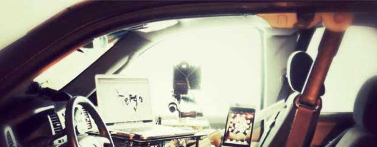 Foto do carro de Tergo e descrição do projeto