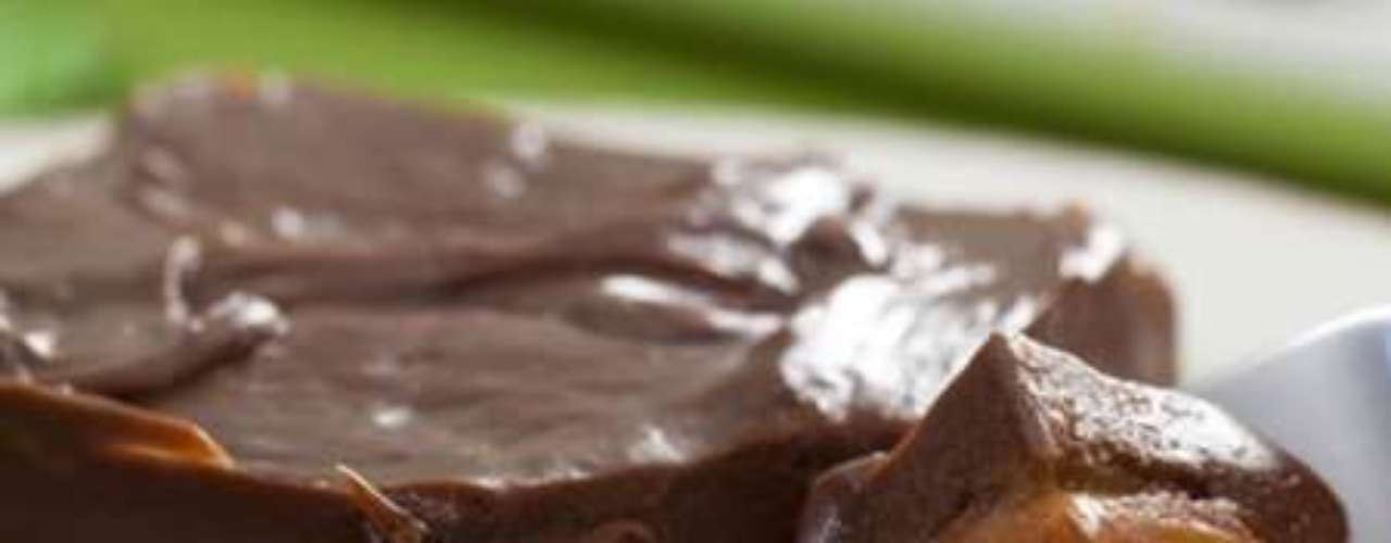 Chocolate de tabuleiro.