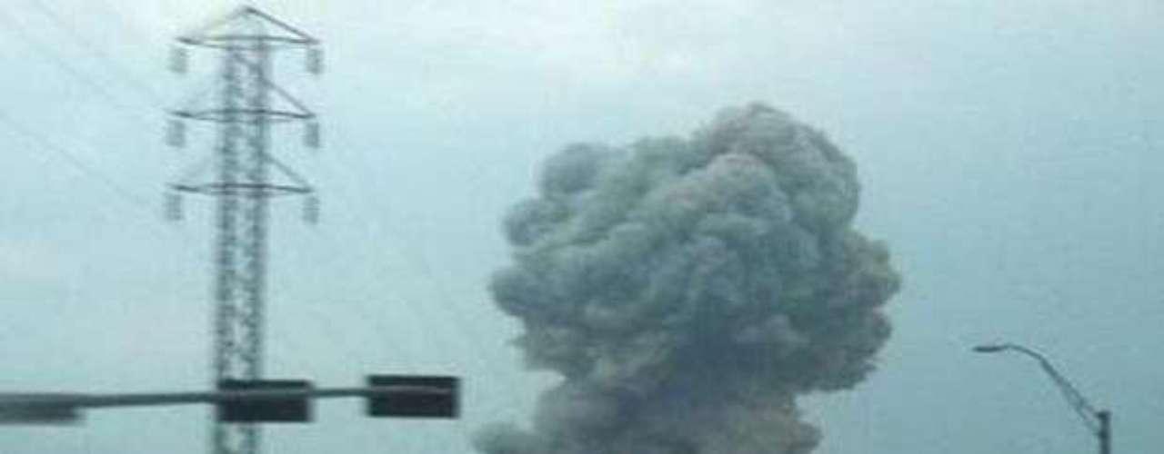 17 de abril -Incidente foi repercutido rapidamente nas redes sociais. Internautas usaram sites como Twitter e Instagram para compartilhar fotos da explosão