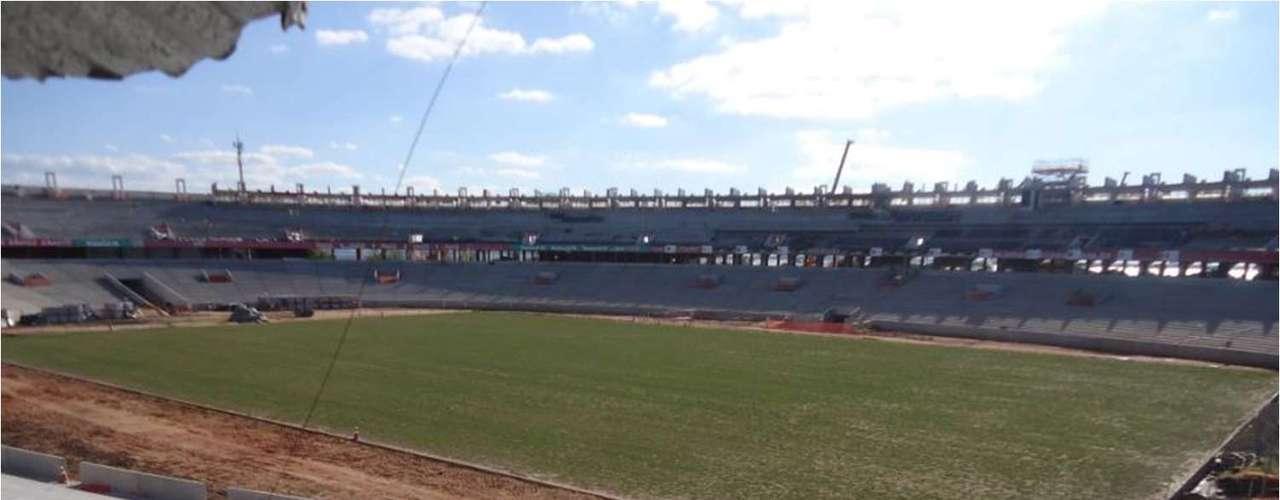 11 de abril de 2013: Obras no Estádio do Beira-Rio avançam para a disputa da Copa do Mundo de 2014
