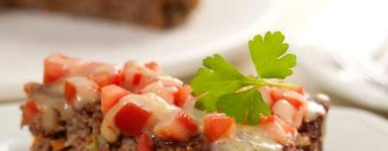 Torta prática de carne moída.
