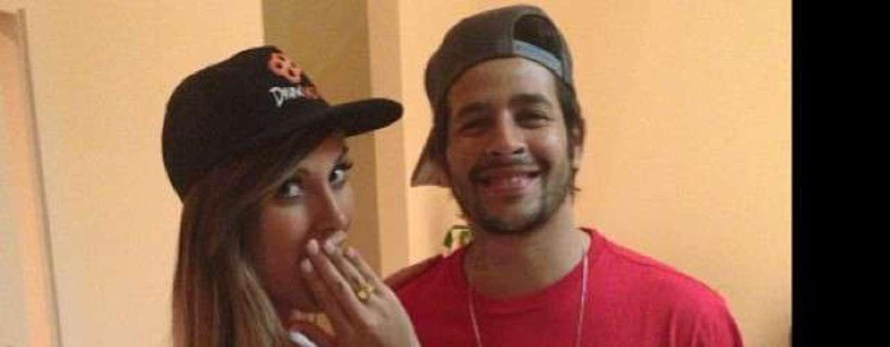 Andressa Urach postou uma foto com o ex-BBB Rafinha