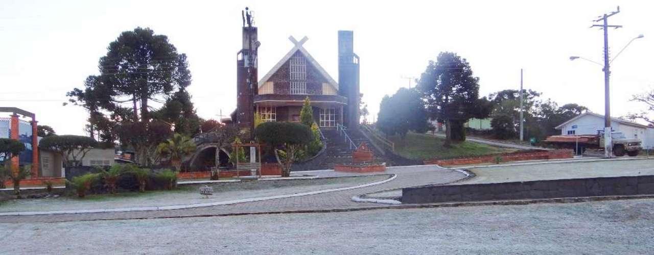 17 de maio - Em Urupema, a temperatura chegou aos -5,2°C