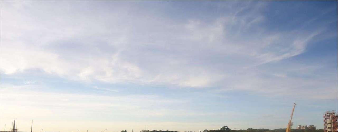21 de maio de 2013: Beira-Rio começa a instalação dos skyboxes, que são camarotes especiais