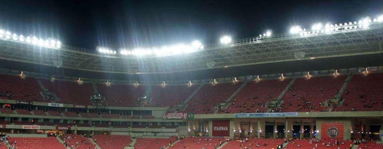 22 de maio de 2013: O estádio, em São Lourenço da Mata, receberá três partidas da Copa das Confederações em junho - todas elas pela primeira fase