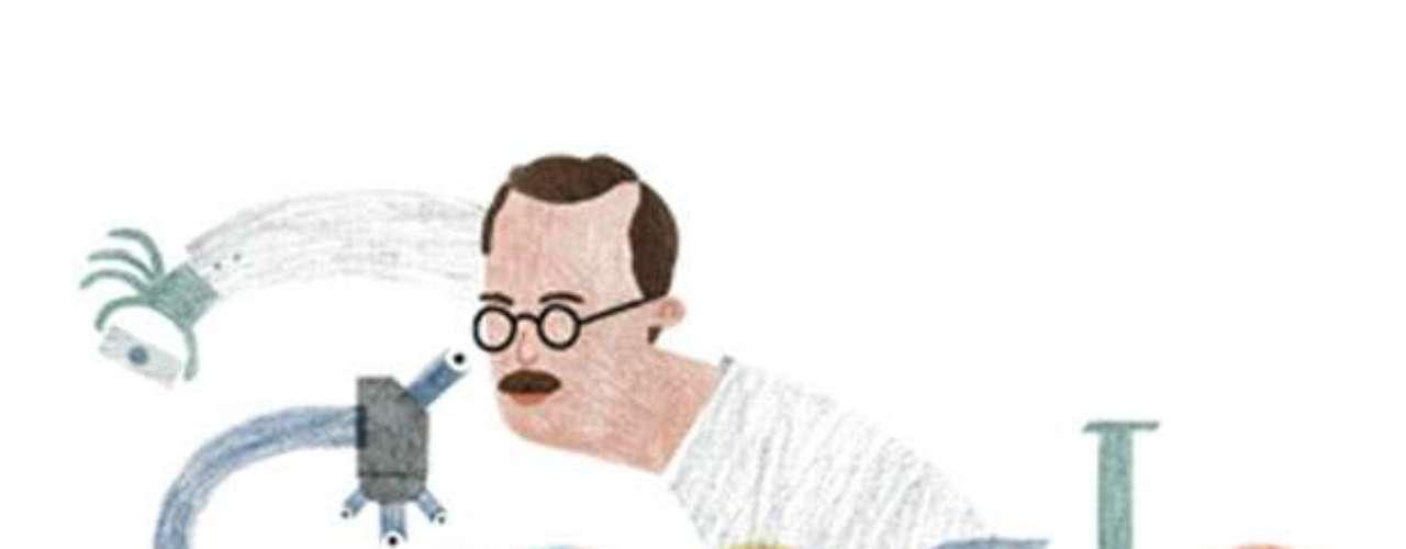 10 de abril - 126º aniversário de Bernardo Alberto Houssay, fisiologista argentino (Argentina)