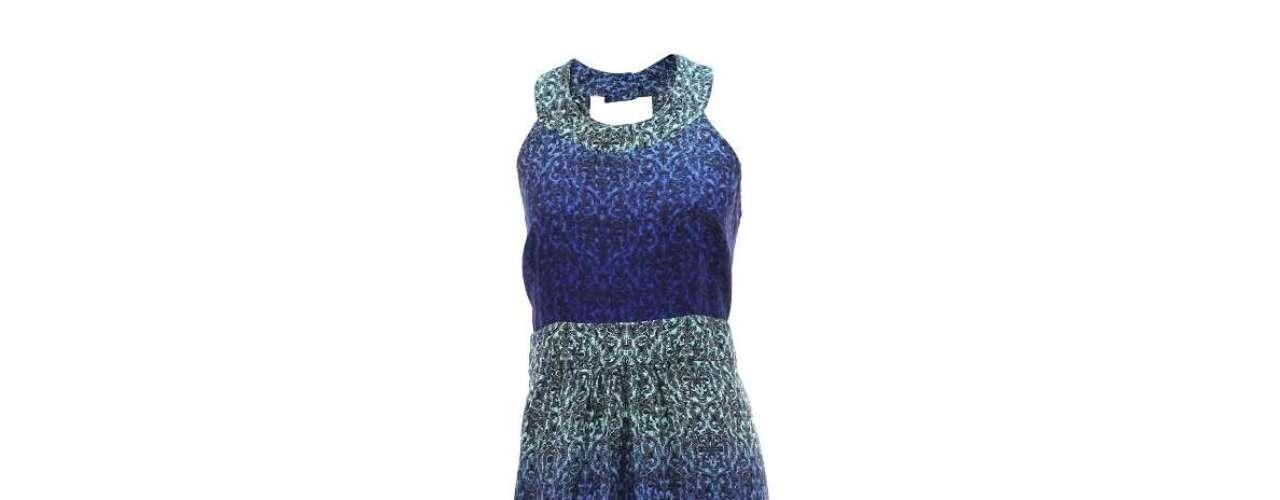 Vestido em viscose, da Mercatto para Passarela.com. Preço: R$ 179,99. Informações: (11) 4531-7952
