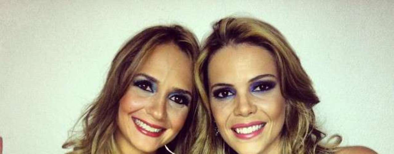 Bruna & Keyla foram descobertas no concurso Mulheres Que Brilham e estão lançando seu primeiro CD com uma gravadora