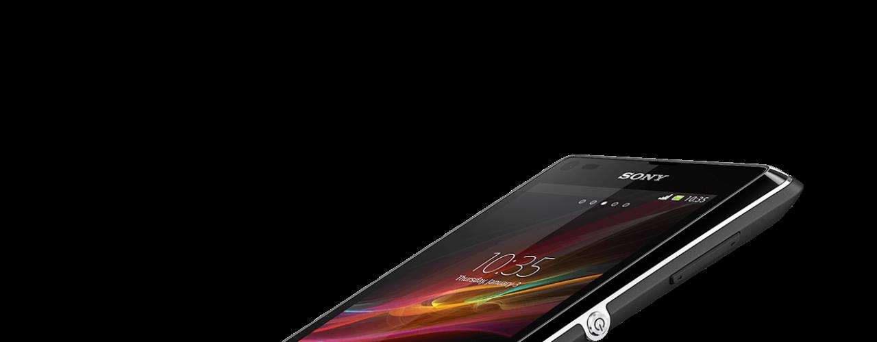 Xperia L usa o sistema Android Jellybean 4.1