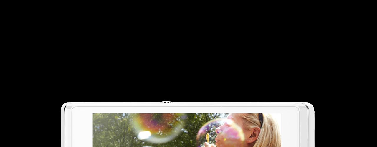 Xperia L possui câmera de 8MP com sensor Exmor RS para fotos e vídeos em HDR