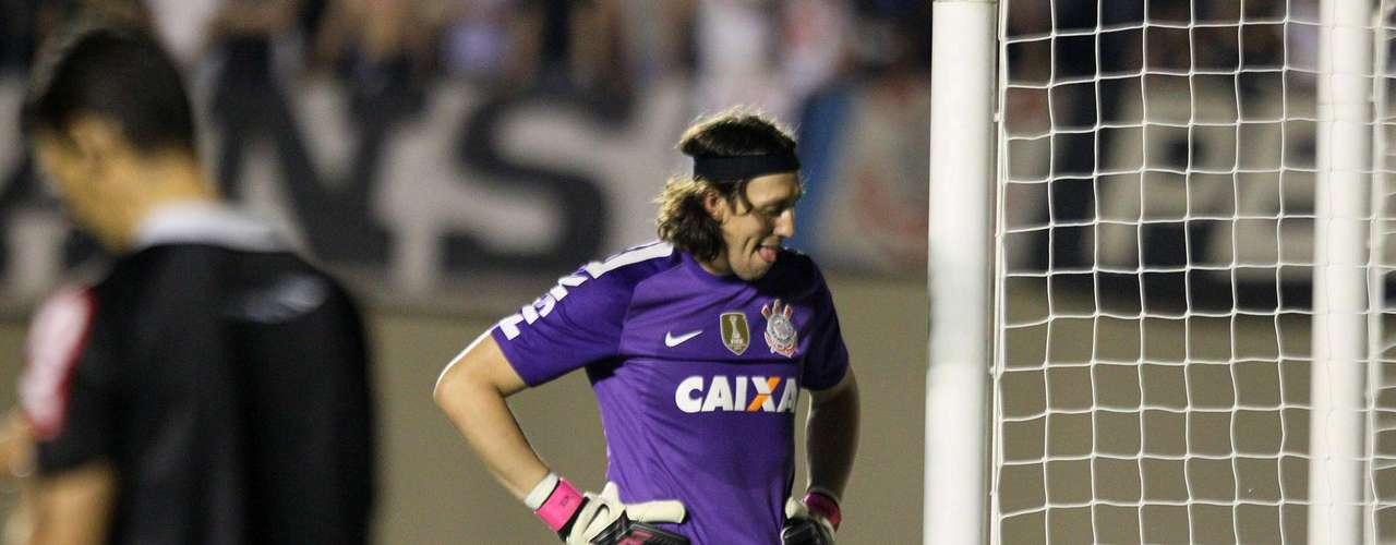 Cássio lamenta gol do Goiás