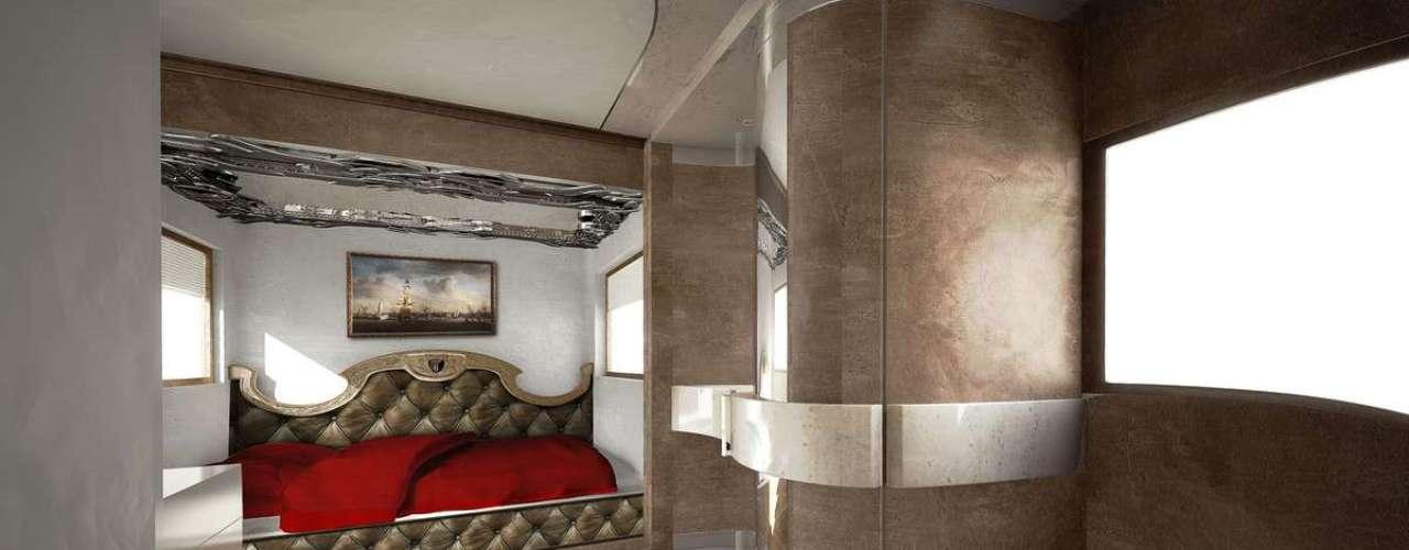 Cama luxuosa é destaque em veículo preferido dos donos dos magnatas do petróleo em Dubai