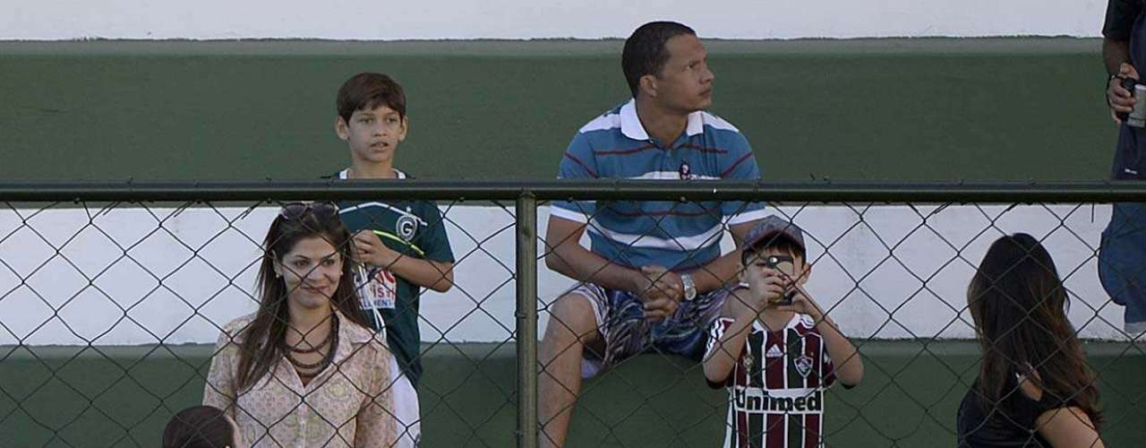 O treinamentono Estádio Serrinha, localizado na sede social do Goiás, marca a despedida da Seleção da cidade