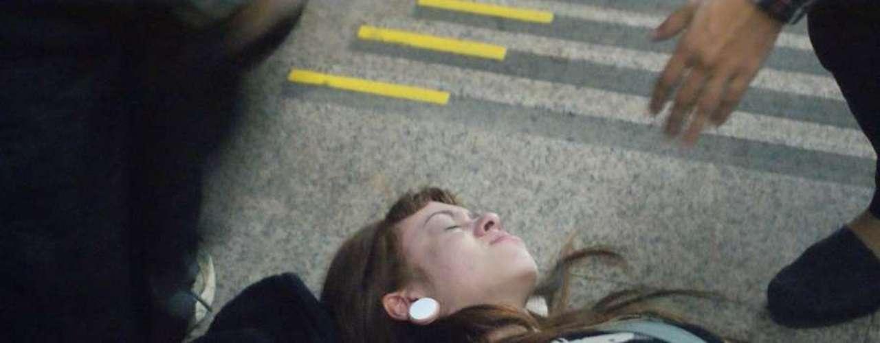 13 de junho - Alguns usuários do metrô passaram mal