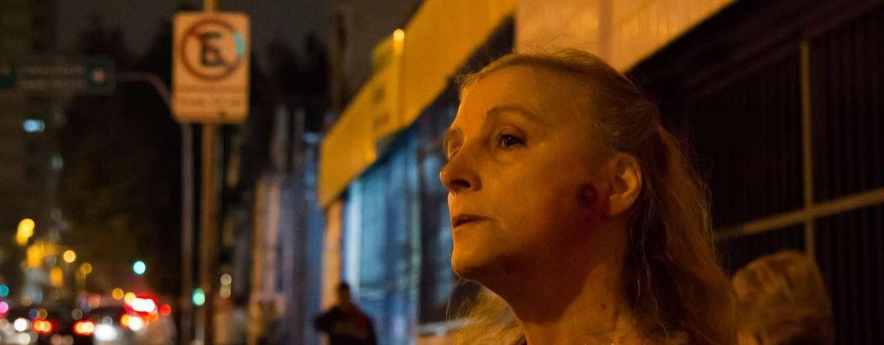 13 de junho - Mulher é ferida no rosto com tiro de bala de borracha disparado pela Polícia Militar