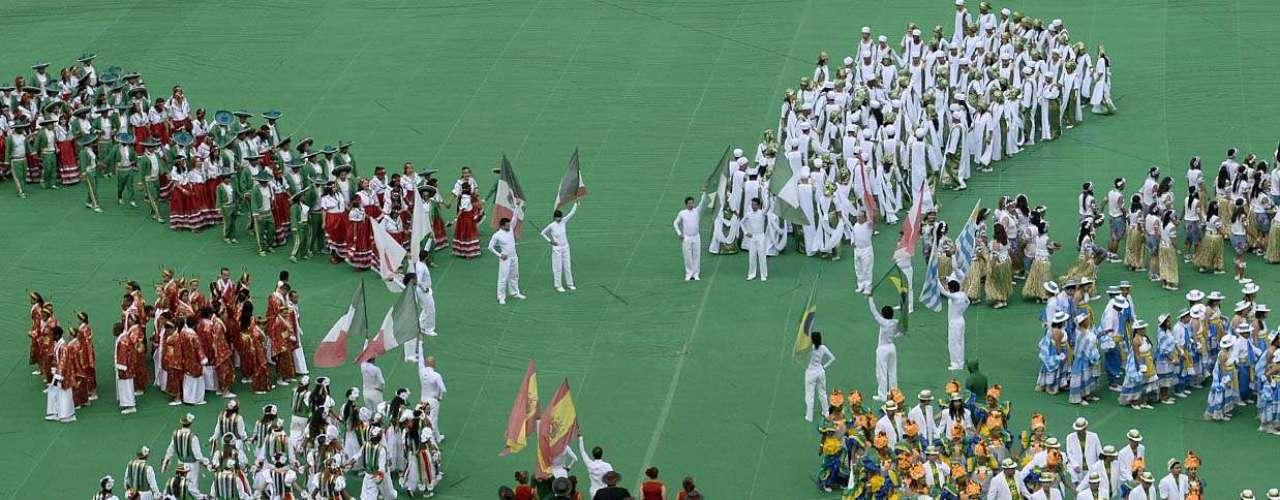 Neste sábado, o Estádio Nacional Mané Garrincha sediou a abertura da Copa das Confederações