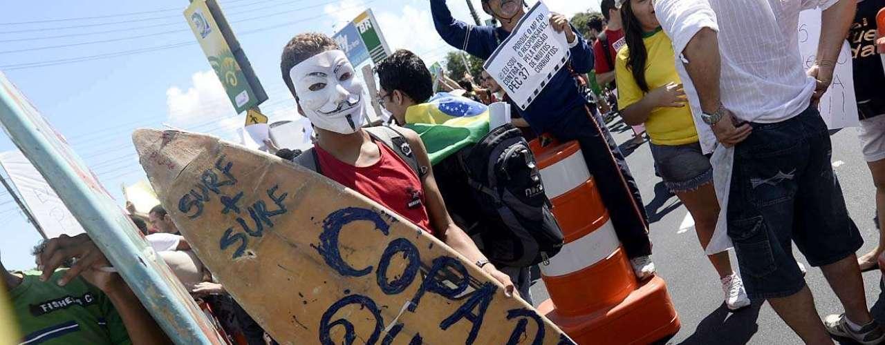 Protestos em Fortaleza acontecem na esteira de diversas outras manifestações pelo País