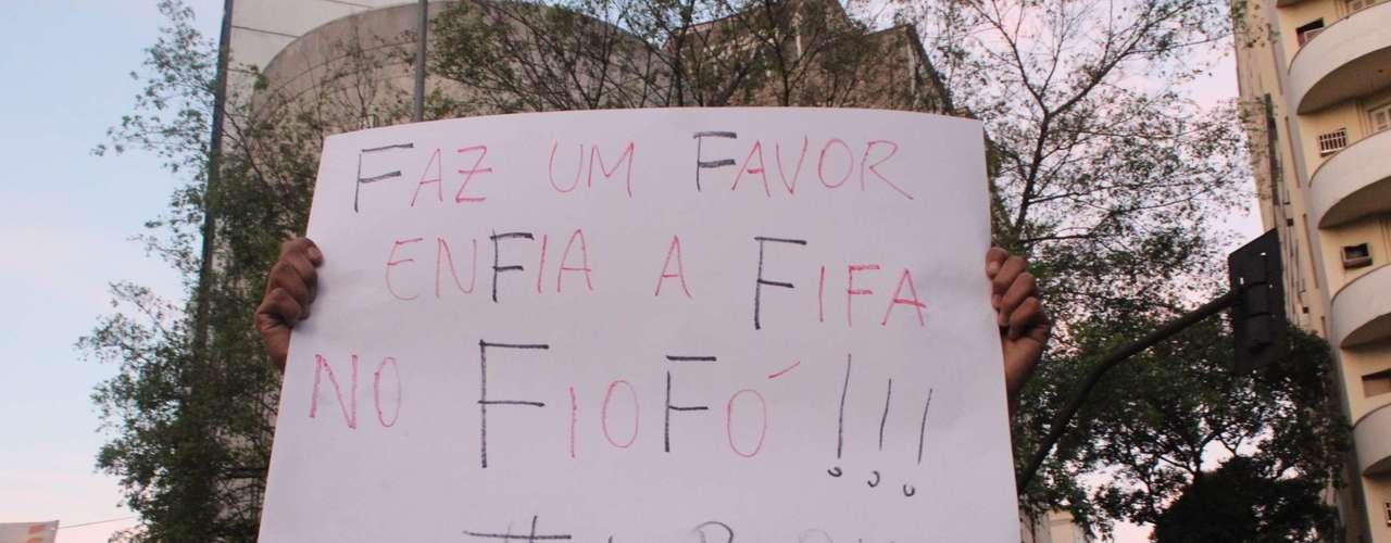 Apesar da revolta, o manifesto em Belo Horizonte foi pacífico