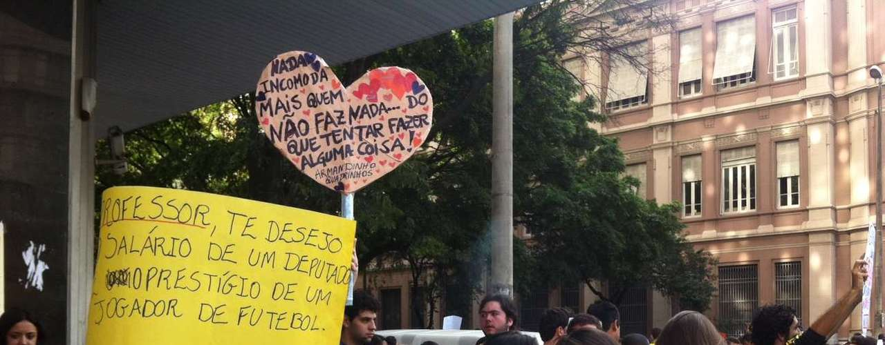 22 de junho -Expectativa é de 50 mil pessoas durante o protesto em Belo Horizonte neste sábado