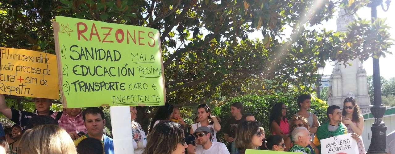 22 de junho - A manifestação começou por volta das 17h30