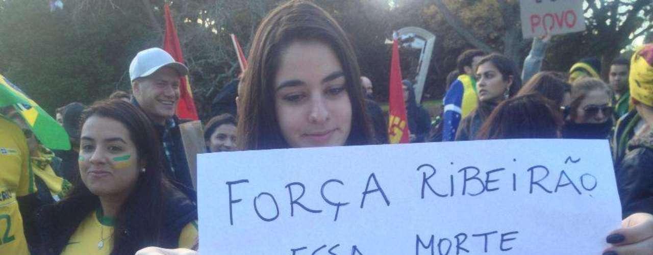 22 de junho -Jovem lembra morte de estudante em Ribeirão Preto; ele foi atropelado enquanto participava de um protesto pelas ruas da cidade no interior paulista