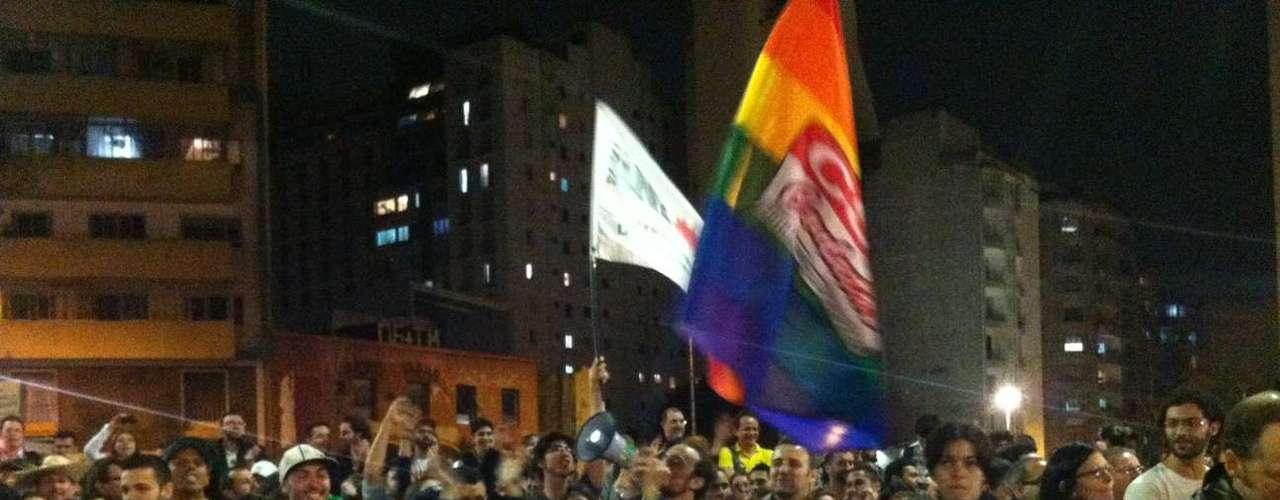 21 de junho - Manifestantes saem às ruas em Guarulhos contra o projeto da \
