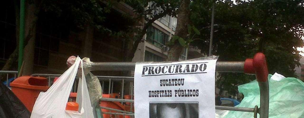 25 de junho - Manifestantes acampados exigem encontro com Cabral