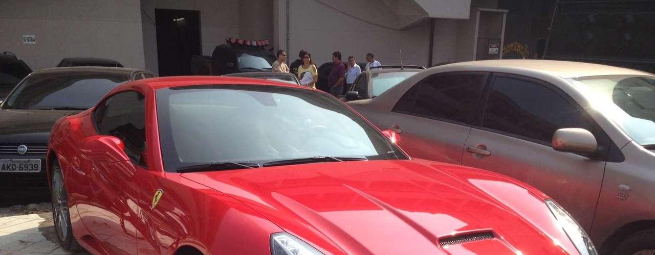 Uma Ferrari foi apreendida na casa onde o espanhol morava