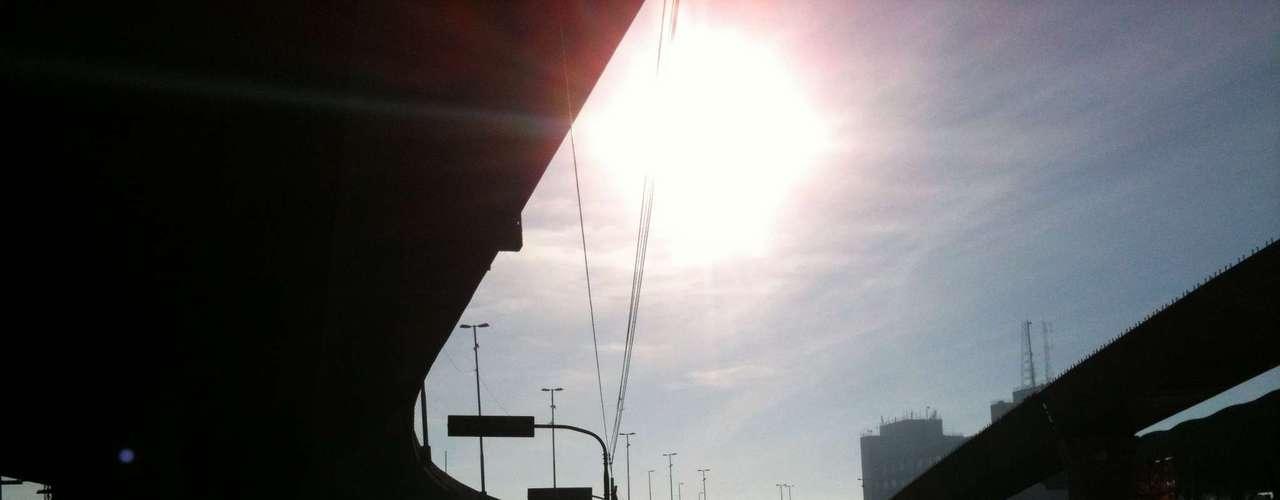 Porto Alegre Próximo á rodoviária da capital, no Centro, o movimento era muito baixo durante a manhã