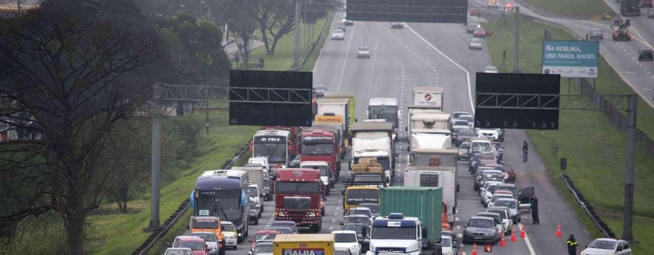 São Bernardo do Campo Uma das principais cidades sindicalistas do Brasil, São Bernardo, no ABC Paulista, teve paralisação de transportes públicos e bloqueio de rodovias