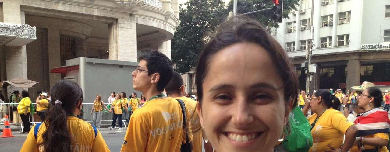 22 de julho - Veterana, Roberta Bueno participa de sua segunda Jornada Mundial da Juventude