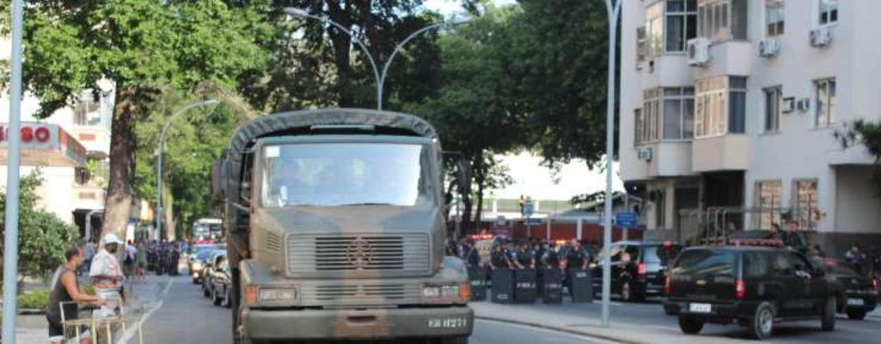 22 de julho -Depois de pousar na Base Aérea do Galeão, e de andar com o papamóvel pelo centro do Rio de Janeiro, o Pontífice se dirigirá até o local para uma solenidade